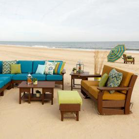 Sofa Set by the Beach